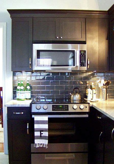 Black Friday Kitchen Cabinets Feature Friday At Hi Sugarplum Subway Tile Backsplash Black Cabinet And Granite
