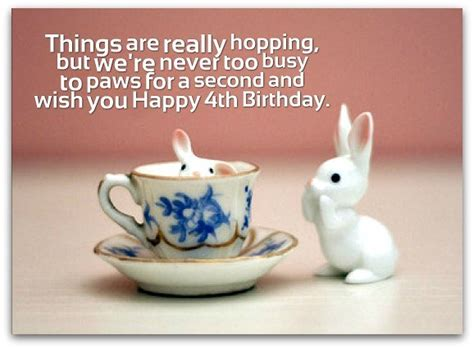Birthday Quotes For 4 Year 4th Birthday Wishes Birthday Messages For 4 Year Olds