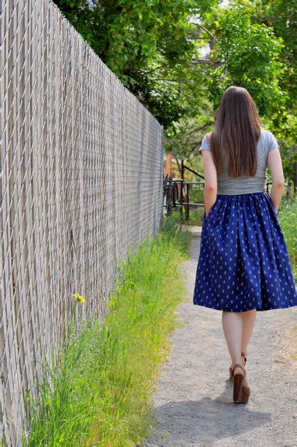 quality sewing tutorials gathered a line skirt