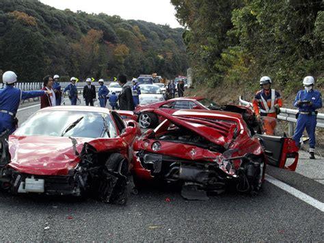 8 Ferrari Accident car accident car accident 8 ferrari
