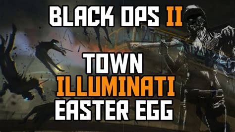 Tutorial Zombies Black Ops | black ops 2 zombies new town illuminati easter egg