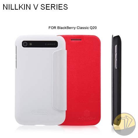 Nillkin V Series Leather Blackberry Classic Q20 Black bao da blackberry classic q20 hiệu nillkin v series