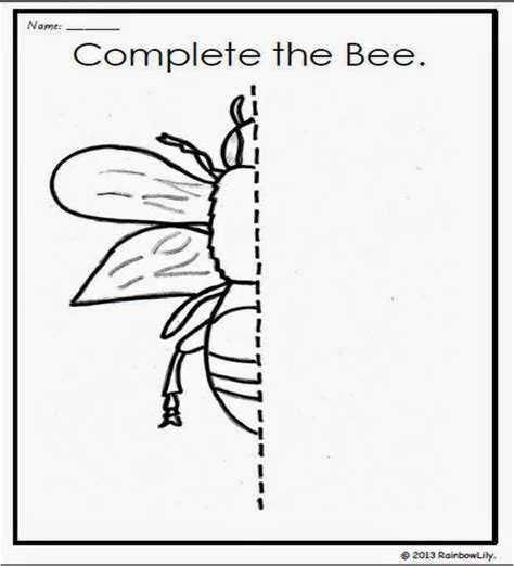 printable insect mazes 82 best eksik tamamlama images on pinterest kindergarten