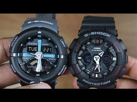 Casio Ga 120 1a casio g shock ga 500p 1a vs g shock ga 120 1a