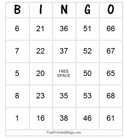 free printable number bingo cards how to play bingo free printable bingo