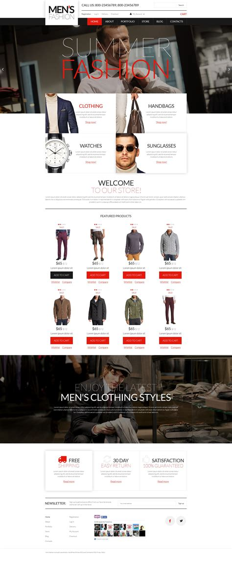 woocommerce themes clothing mens clothing online woocommerce theme
