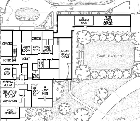floor plan of the white house west wing white house museum