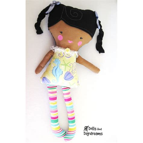 pattern sewing doll dolls and daydreams doll and softie pdf sewing