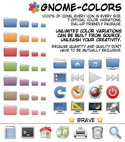 gnome themes repository beautiful icon themes for your linux desktop creatorb