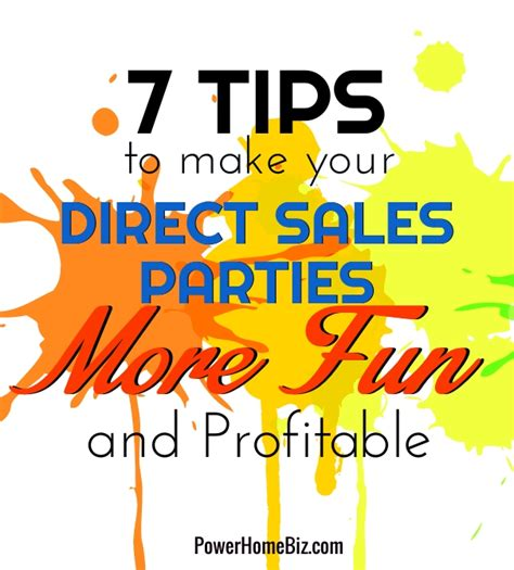 7 Tips On How To Make Your Time A Pleasant Memorable Experience by 7 Tips To Make Your Direct Sales More Profitable