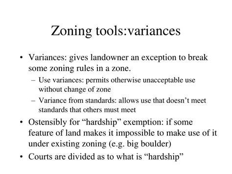 Zoning Hardship Letter Zoning Variance Images