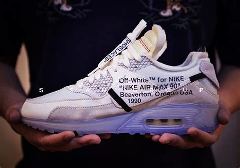 Offwhite 100 Original white nike air max 90 release date september 1st