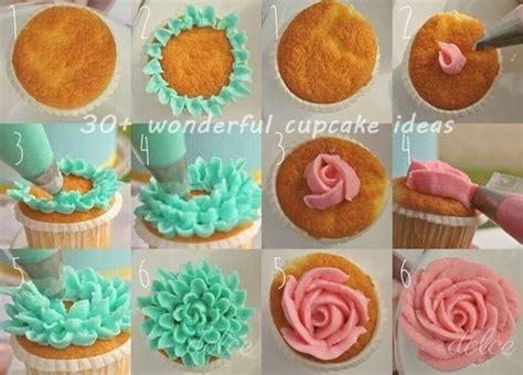 flower decorating tips 30 wonderful cupcake ideas