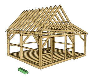 timber frame cabin plans size    wporch  doors