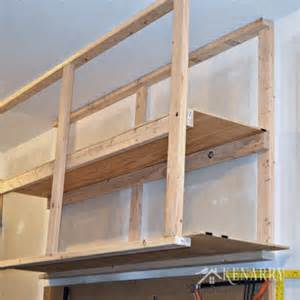 garage storage great idea for ceiling mounted shelves the diy plans home design ideas
