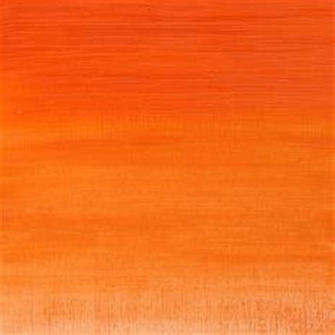 hues of orange couleur 224 l huile hydrosoluble artisan winsor newton