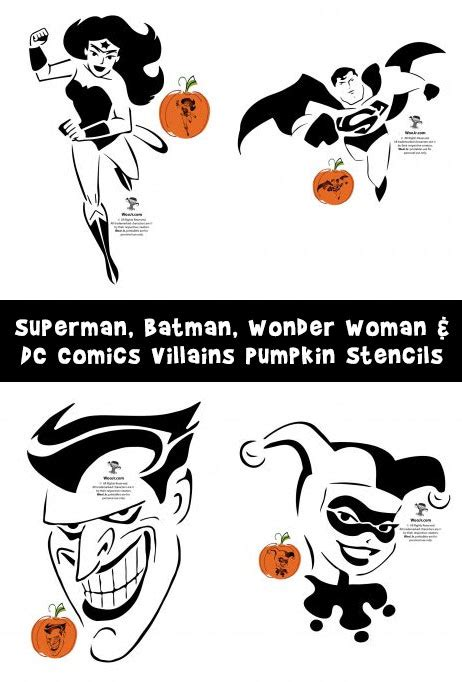 marvels avengers printable pumpkin stencils woo jr