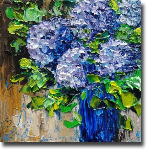 Painting With Flowers by Best 25 Hydrangea Painting Ideas On Acrylic