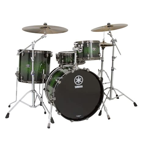 Drum Set yamaha live custom 3 drum set shell pack 18 quot bass 12 14 quot toms lc8f30j