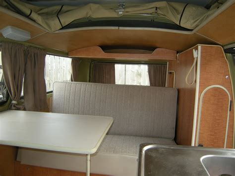 vw bay window interior vw t2 interior vw cer interiors