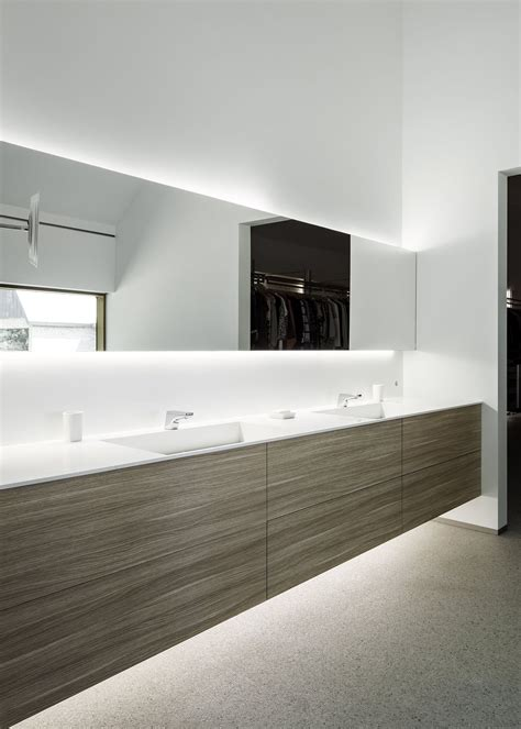 Modern Bathroom Countertops by Modern Bathroom With Corian Sink And Countertop We Are