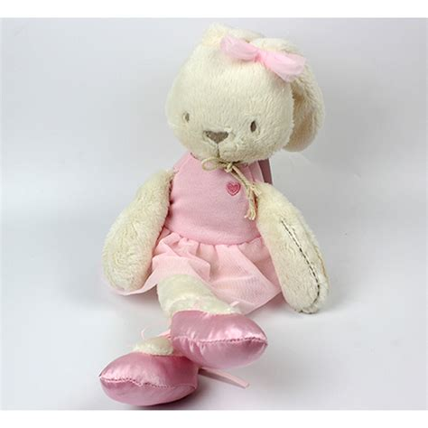 Bunny Plush Mamas Papas Doll Boneka Kelinci Pink Ballerina newest mamas papas soft baby plush doll lovely pink rabbit birthday gift 1pc