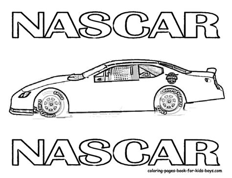 coloring pages nascar cars cars coloring pages for boys images coloring