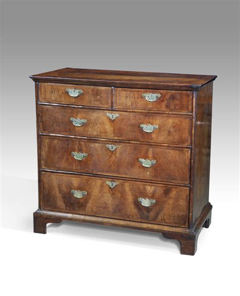 Chess Of Drawers by Walnut Chest Of Drawers Georgian C Of D Antique Chest Of