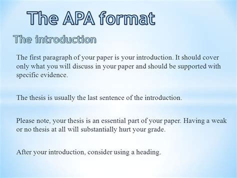 apa format introduction the apa format title page ppt video online download