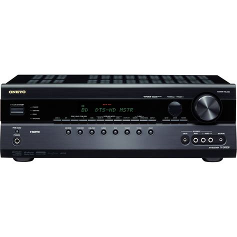 Home Theater Onkyo 7 1 onkyo tx sr508 7 1 channel home theater receiver tx sr508 b h