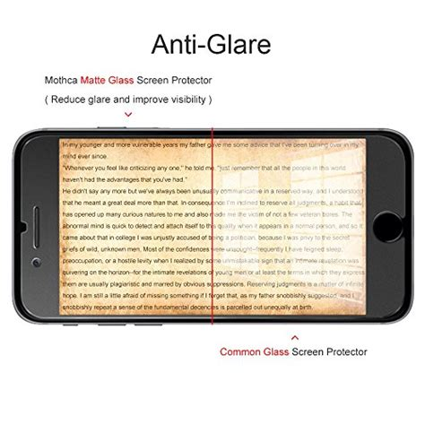 Iphone 6 6s Tempered Glass Matteanti Glareanti Minyak Kaca 1 mothca iphone 6 6s screen protector matte anti glare import it all