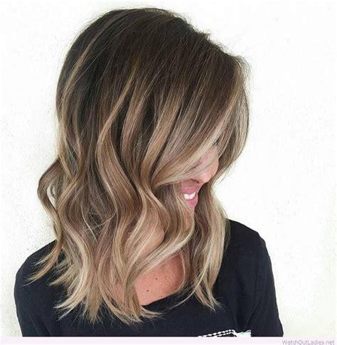 balayage on medium length hair balayage shoulder length hair