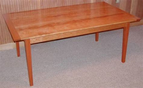 shaker cherry dining table