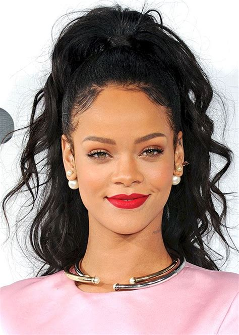 black hair styles to wear when your hair is growing out best 25 rihanna red lipstick ideas on pinterest rihanna