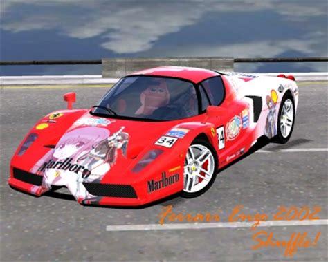 Ferrari Enzo Race Car by Trackmania Carpark 2d Skins Ferrari Enzo 2002 Shuffle