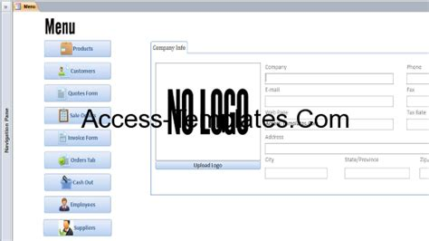 microsoft access quotation template microsoft access customers invoices quotes and orders