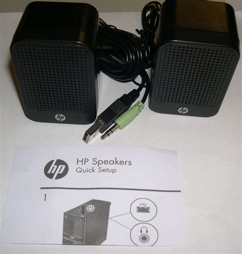 Speaker Laptop Hp hp multimedia computer speakers 630797 001 great for pc or mac ebay