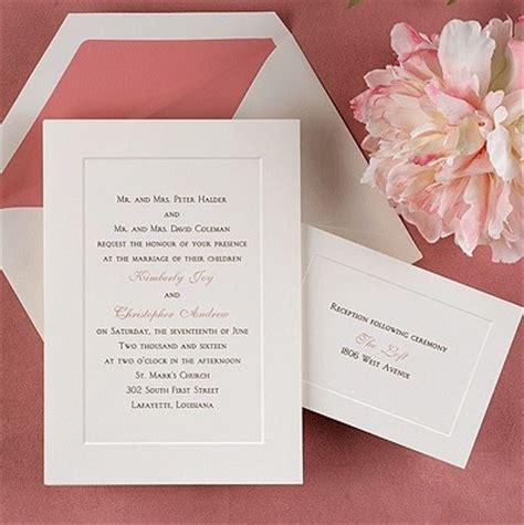 Single Card Wedding Invitations by Single Panel Single Card Wedding Invitations