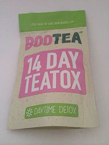 Detox Tea Weight Loss Bootea by Bootea Daytime Detox Tea 14 Days Most Successful