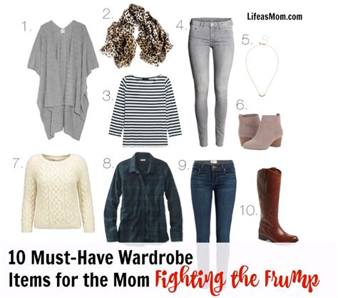 10 piece wardrobe outfits must have wardrobe items to fight the frump life as mom