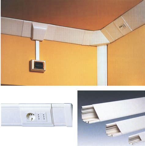 impianti elettrici a vista per interni applicare canaline esterne bricoportale fai da te e