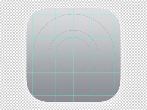 ios app template free ios 7 ocd app icon template grid by dribbble