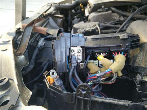 changing  alternator fuse  lexus  es