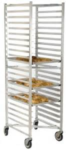 aluminum bakery and utility racks storage