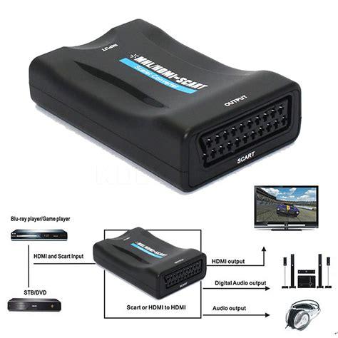 Portable Hdmi To Scart Converter 1080p á 2016 newest hdmi converter â hdmi hdmi to scart converter av î î signal signal adapter