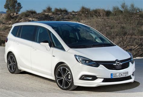 opel zafira 2019 2019 opel zafira price and release date efficient family car