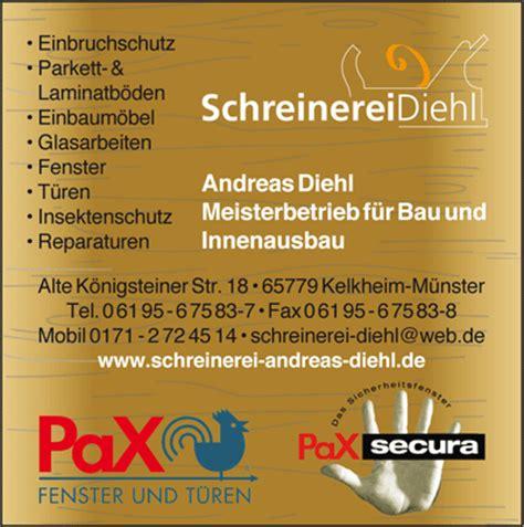 schreinerei hofheim branchenadressverzeichnis hofheim eppstein kriftel und