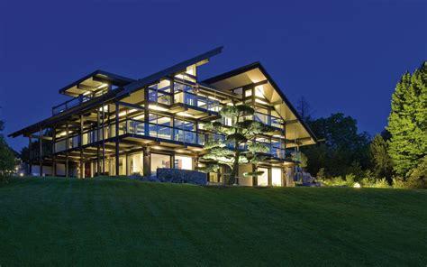 haus 8 saarbrücken design haus 8 black in glas und holz architektur