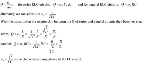 inductor quality factor parallel calculate inductance in rlc circuit 28 images image gallery inductor formula calctool rlc