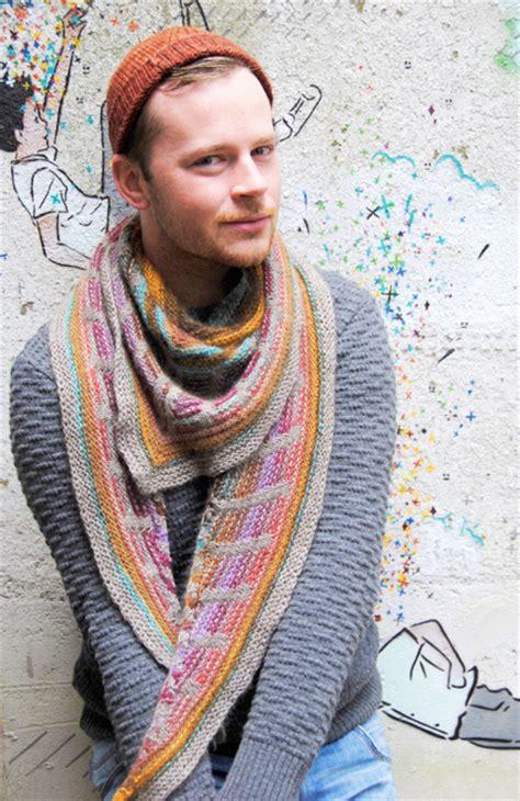 stephen west knitting metalouse shawl knitty winter 2012